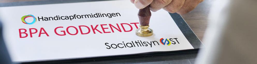 Godkendt BPA virksomhed til administration af ordninger over hele Danmark